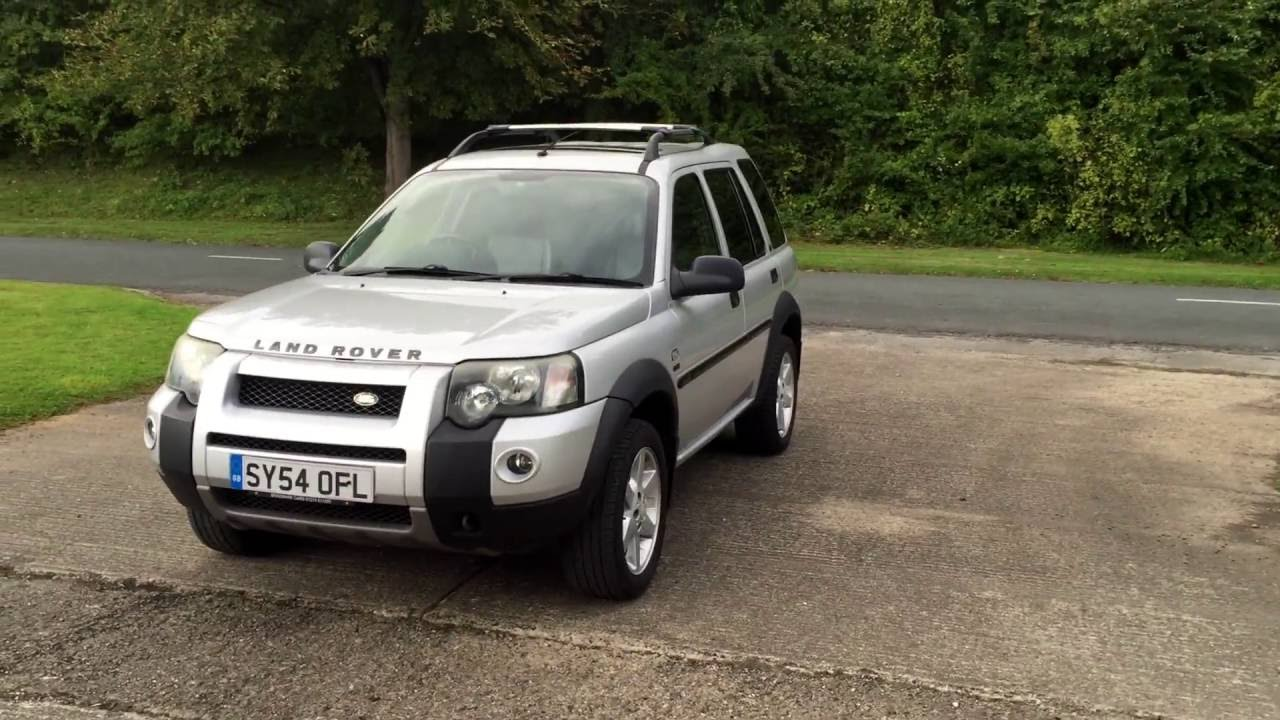 2004 54 land rover freelander 2 0 td4 hse station wagon 5d 110 bhp youtube. Black Bedroom Furniture Sets. Home Design Ideas