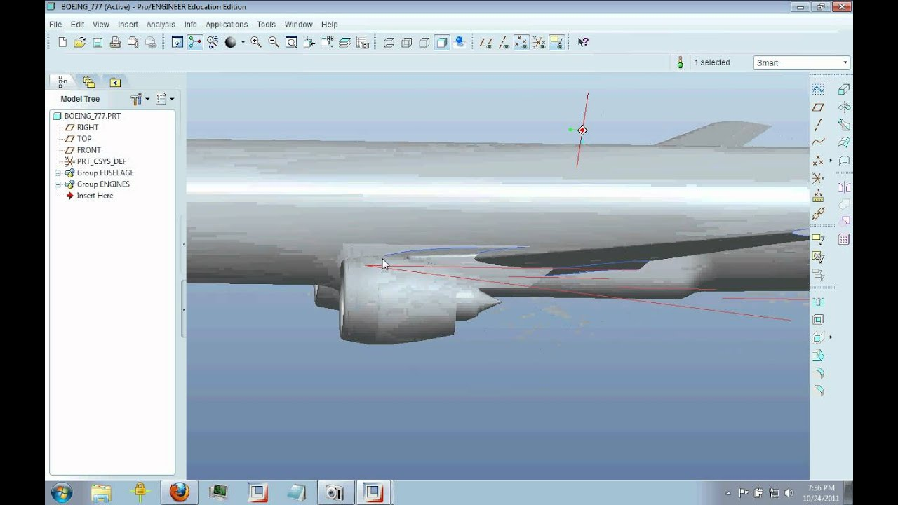 General Airplane Design Boeing 777 Youtube