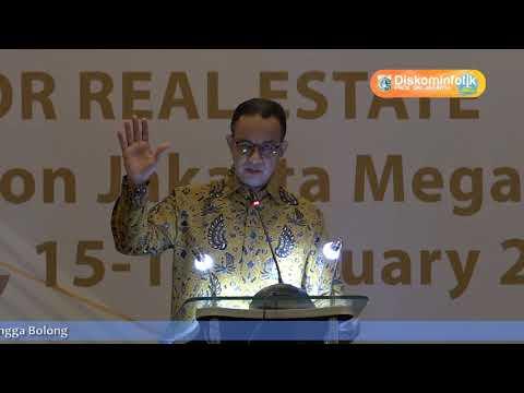 15 Jan 2018 Gub Anies R. Baswedan Menghadiri Acara Konferensi Investor Bisnis Realestate
