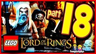 Lego the Lord of the Rings - Walkthrough Part 18 Mount Doom & Ending