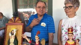 Santa Fe Spanish Market - Artist Interview - Rodolfo Parga & Vega Parga | Bultos