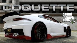 GTA 5 Custom Car Build : Invetero Coquette