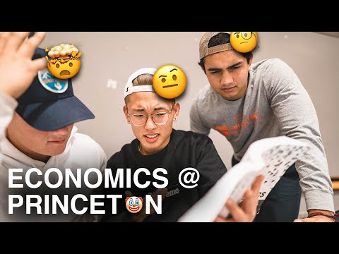 A Day in the Life of a Princeton Economic Student
