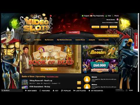 Online Slots with The Bandit - Ivanhoe, Cashapillar and More