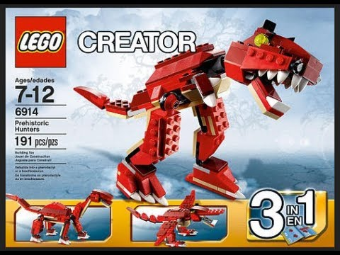 How To Build Lego Creator 6914 Instructions Youtube