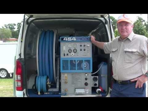 Carpet Cleaning Machine - Sapphire Scientific Truckmount Owner
