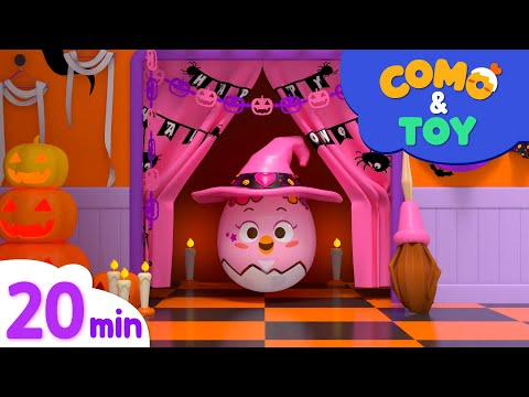 Como and Toys | Halloween Costume + More Episode | Learn colors and words | Como Kids TV