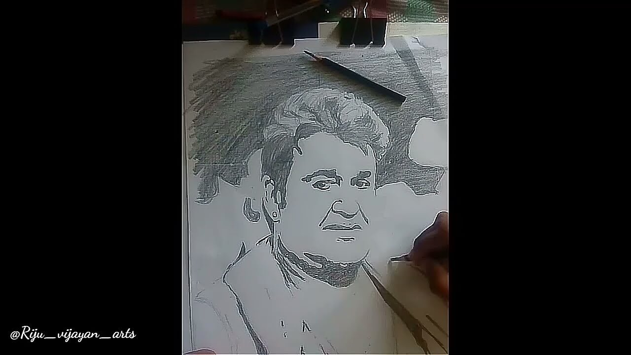 odiyan manikkan*(mohanlal) / pencil drawing lal ettan ...