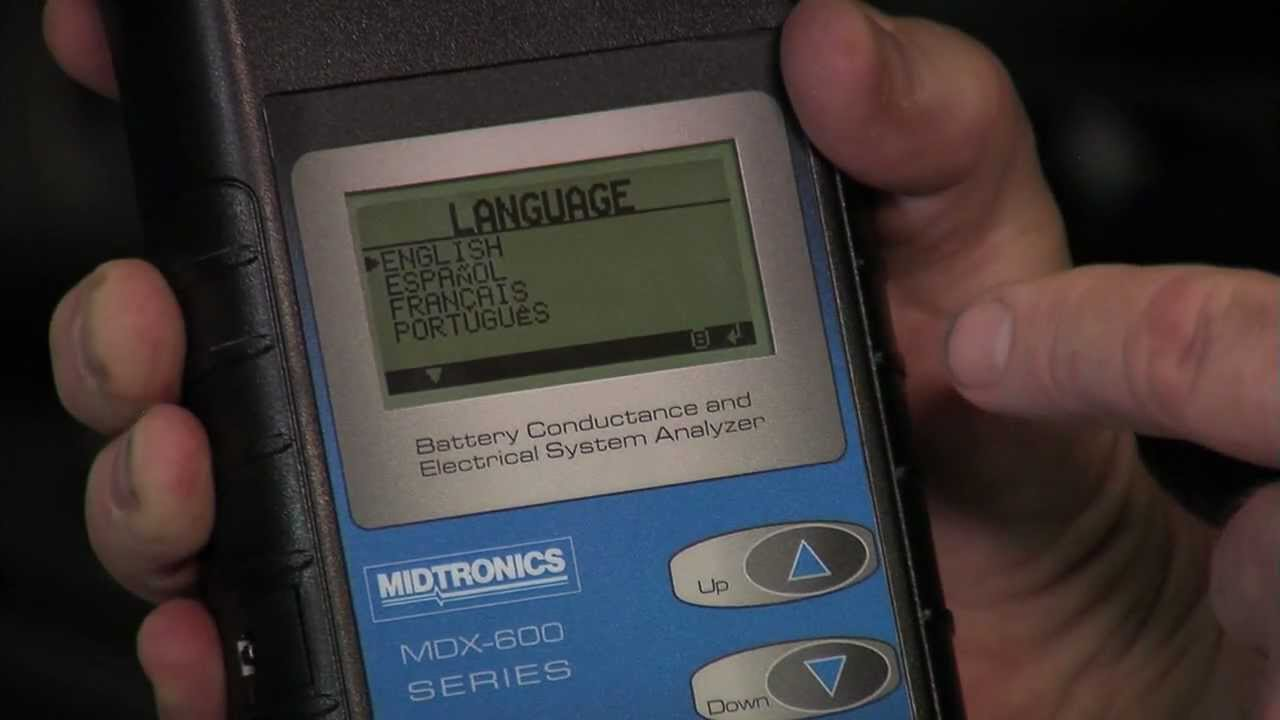 Midtronics 125-036 1600mAh NiMH Battery Pack