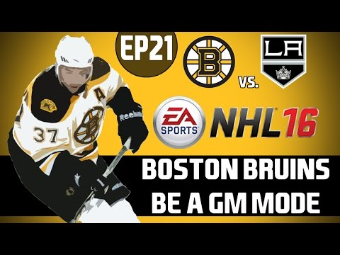 NHL 16: Boston Bruins Be a GM Mode - Milan Lucic Returns [Y3G12 EP21]