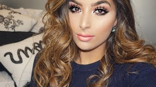 Valentine's Day Hair & Makeup Tutorial    Get Glam with Gi