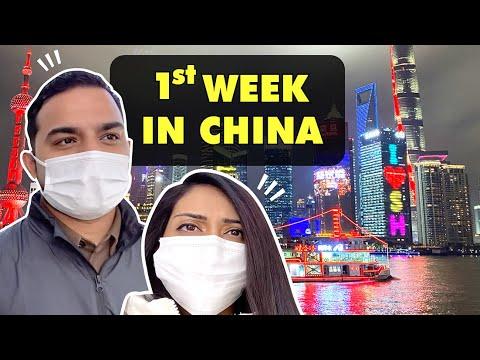Exploring Shanghai Post Quarantine 2021 (My Wife's 1st Week in China!)   Travel Vlog