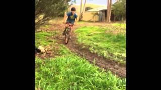 Bikes in mud