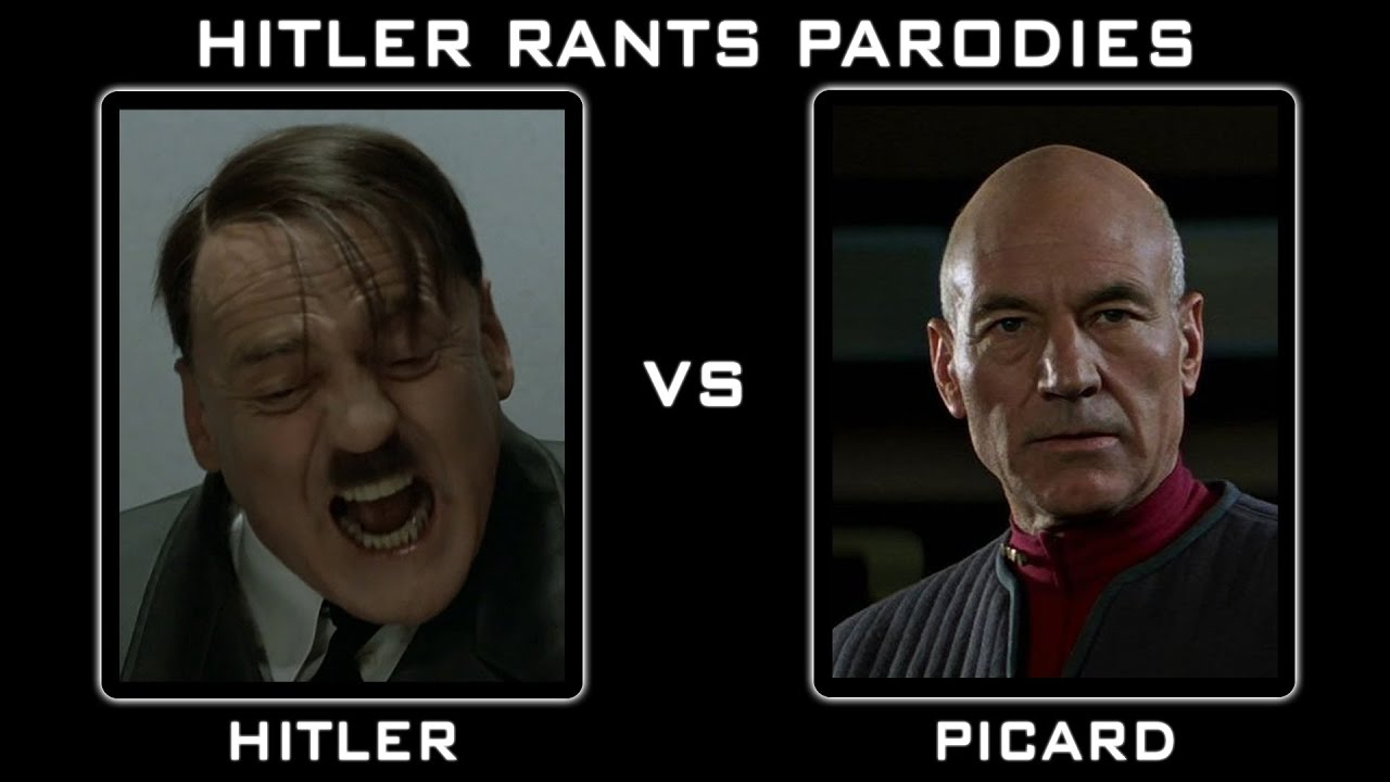 Hitler Vs Captain Picard