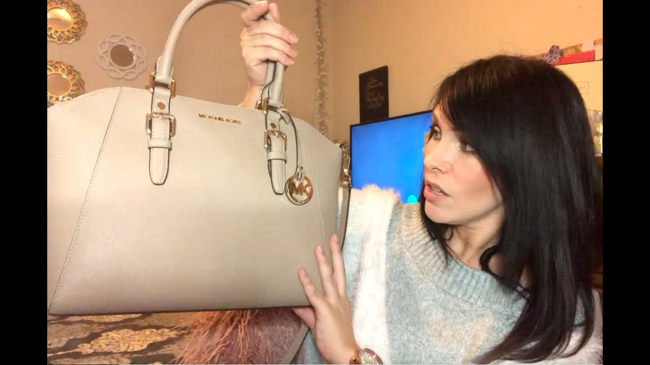 828579318af0 Michael Kors Ciara Satchel!! - YouTube