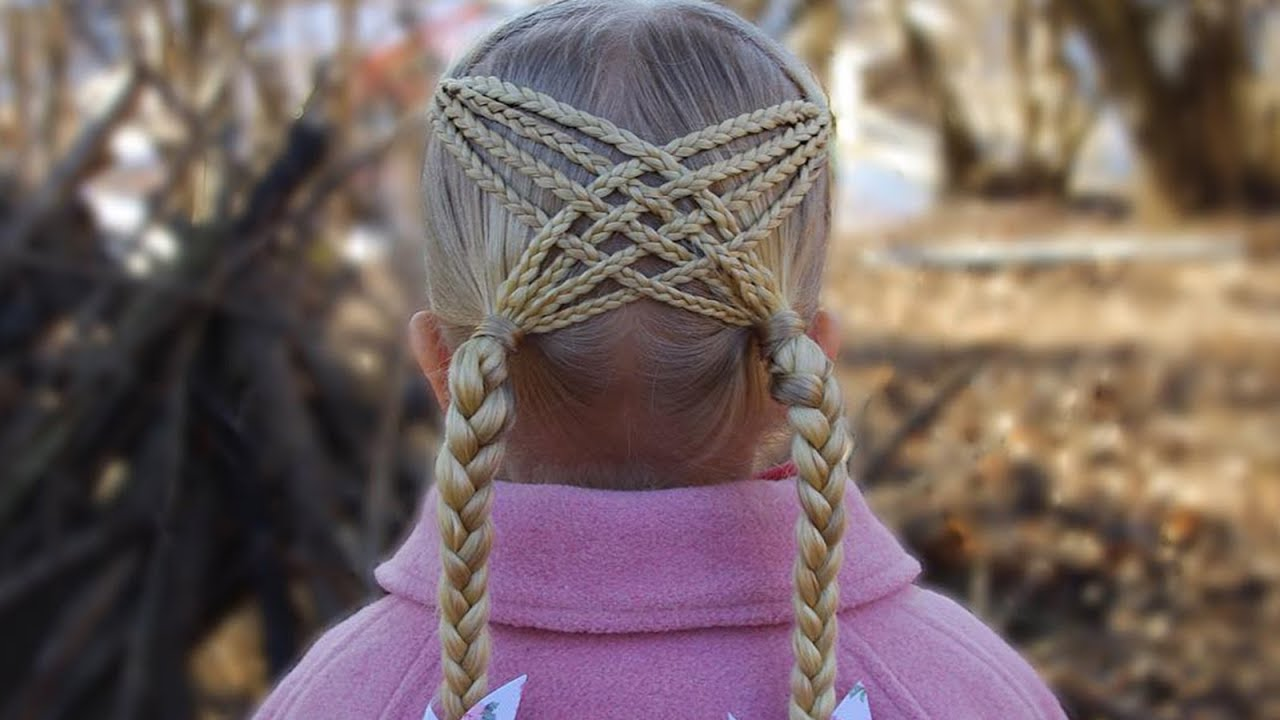 This mom goes above and beyond to braid her daughters' hair