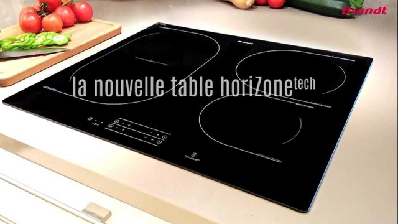 D couvrez la nouvelle table induction horizonetech de for Plaque a induction whirlpool