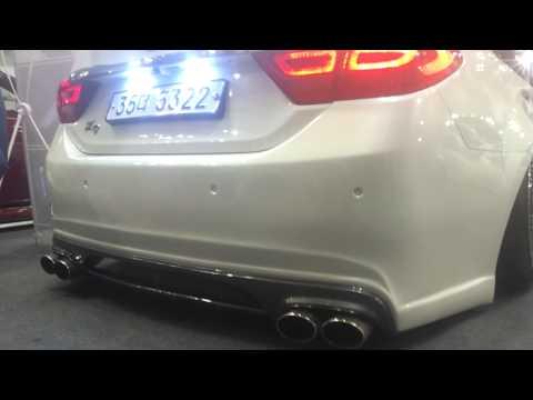 2014    K9   K9,EQUUS exhaust