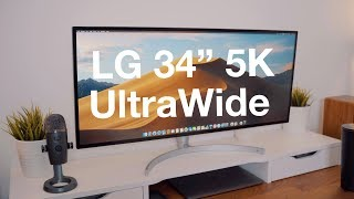 Hands-On With LG's $1,500 UltraWide 5K Display (34WK95U)
