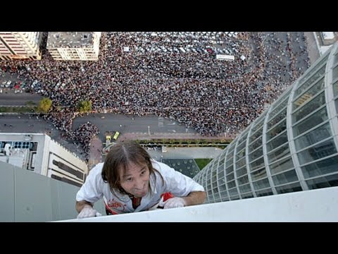 "Alain Robert   Extreme Urban Free Solo Climber   ""The Real Spiderman"" 2017 1080p HD"
