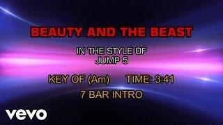Jump5 - Beauty And The Beast (Karaoke)