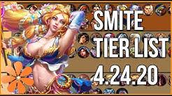 SMITE SEASON 7 TIER LIST UPDATE: 04.24.20