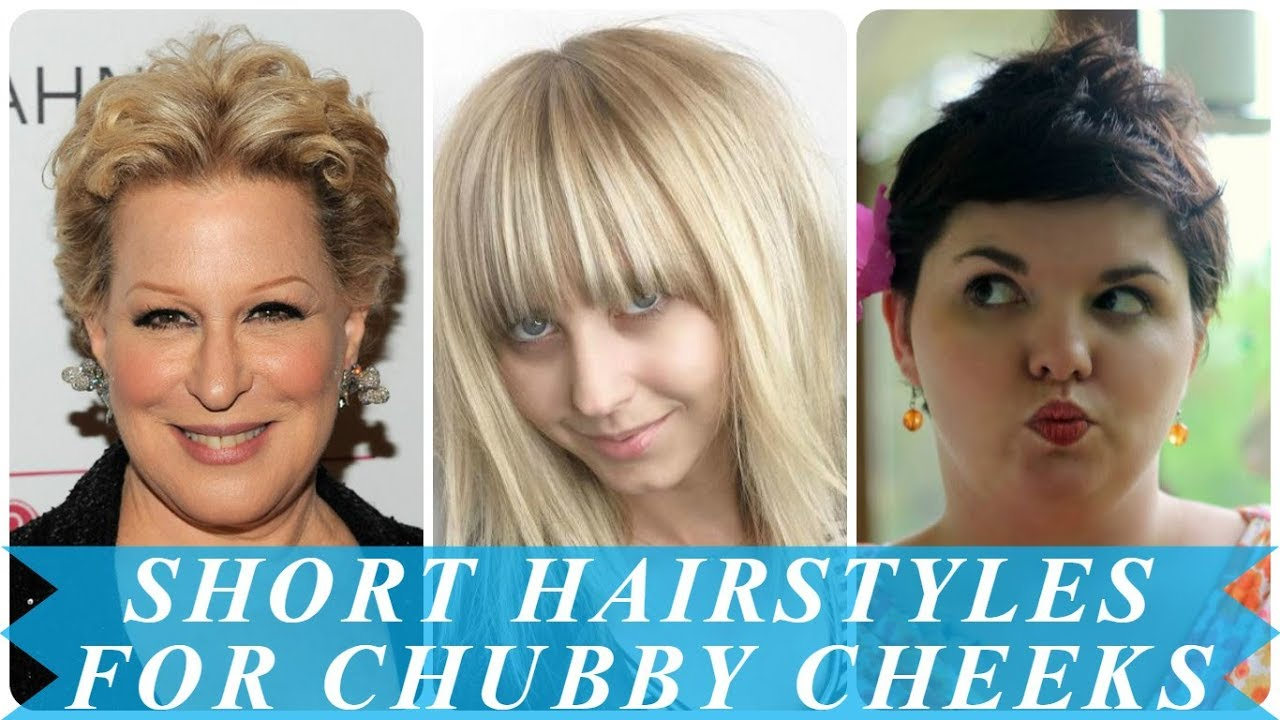 20 Best Short Haircuts For Round Chubby Faces Youtube
