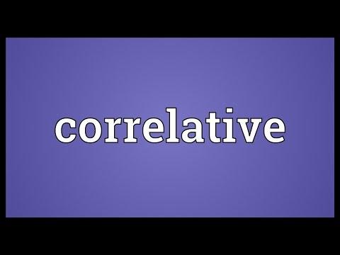Header of correlative