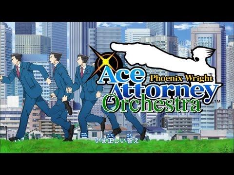 Ace Attorney/Gyakuten Saiban Anime ORCHESTRA