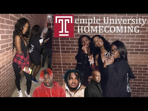 Homecoming @ Temple University ft. Lil Yatchy, Tee Grizzley, & Wyclef Jean || College Vlog