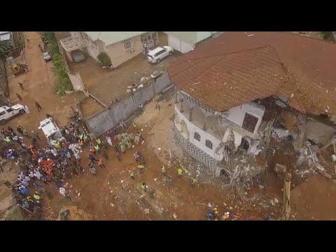 Sierra Leone declares a week of national mourning after mudslide