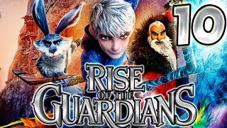 Rise of the Guardians Walkthrough Part 10 (PS3, X360, WiiU, Wii) No Commentary