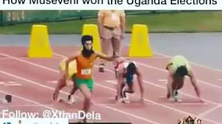 New Whatsapp Funny Videos || Comedy Scenes || How Museveni won Uganda elections #3