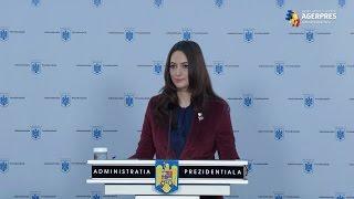 Mădălina Dobrovolschi: Preşedintele se consultă miercuri şi joi cu partidele