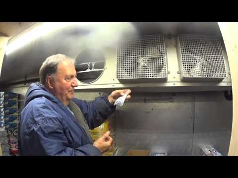Walk in cooler charging and cleaning the evaporator coi for Walk in cooler motor