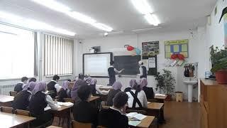 """Открытый урок на конкурсе """"Учитель года-2017"""""""" Чеченская Республика"""