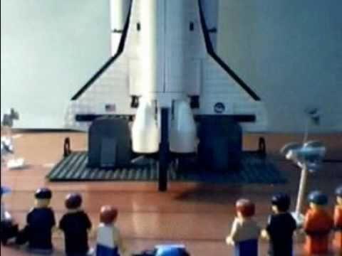 lego space shuttle you tube - photo #7