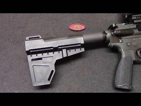Shockwave Blade Arm Brace & Buffer Tube @ KAK INDUSTRY LLC / PrepperKip