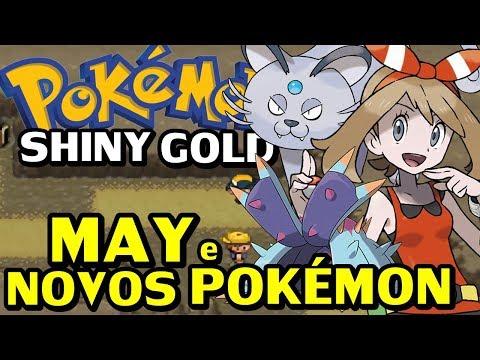 Pokémon Shiny Gold Sigma (Detonado - Parte 28) - May, Exploração E Novos Pokémon