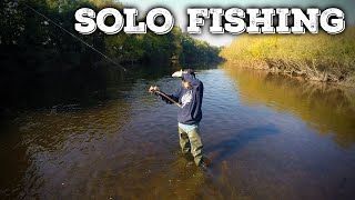 Solo Fishing - The Adventure!