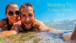 GoPro: Wedding Trip #FroLOVEoneLOVE / Turkey / Kemer / 2014 / PGS Kiris Resort 5*(Сладко-свадебный медовый месяц семьи Фроловых! Турция / Кемер / 2014 / PGS Kiris Resort 5*.