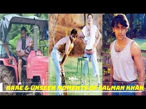 Rare and Unseen photos of Salman khan (Bollywood superstar salman khan unseen videos)