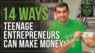 14 Ways Teenage Entrepreneurs Can Make Money thumbnail