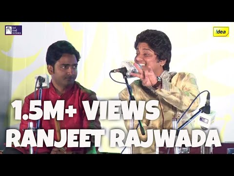 Chupke Chupke Raat Din | Ghazal by Ranjeet Rajwada | Idea Jalsa 2015 | Art And Artists