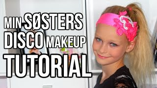 Disco Makeup Tutorial - Min Lillesøster