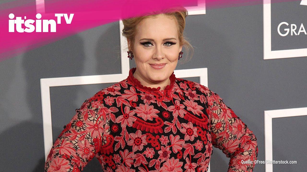 Nur Noch Ein Strich Sangerin Adele Im Mager Wahn Youtube