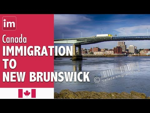 Immigration to New Brunswick, Canada