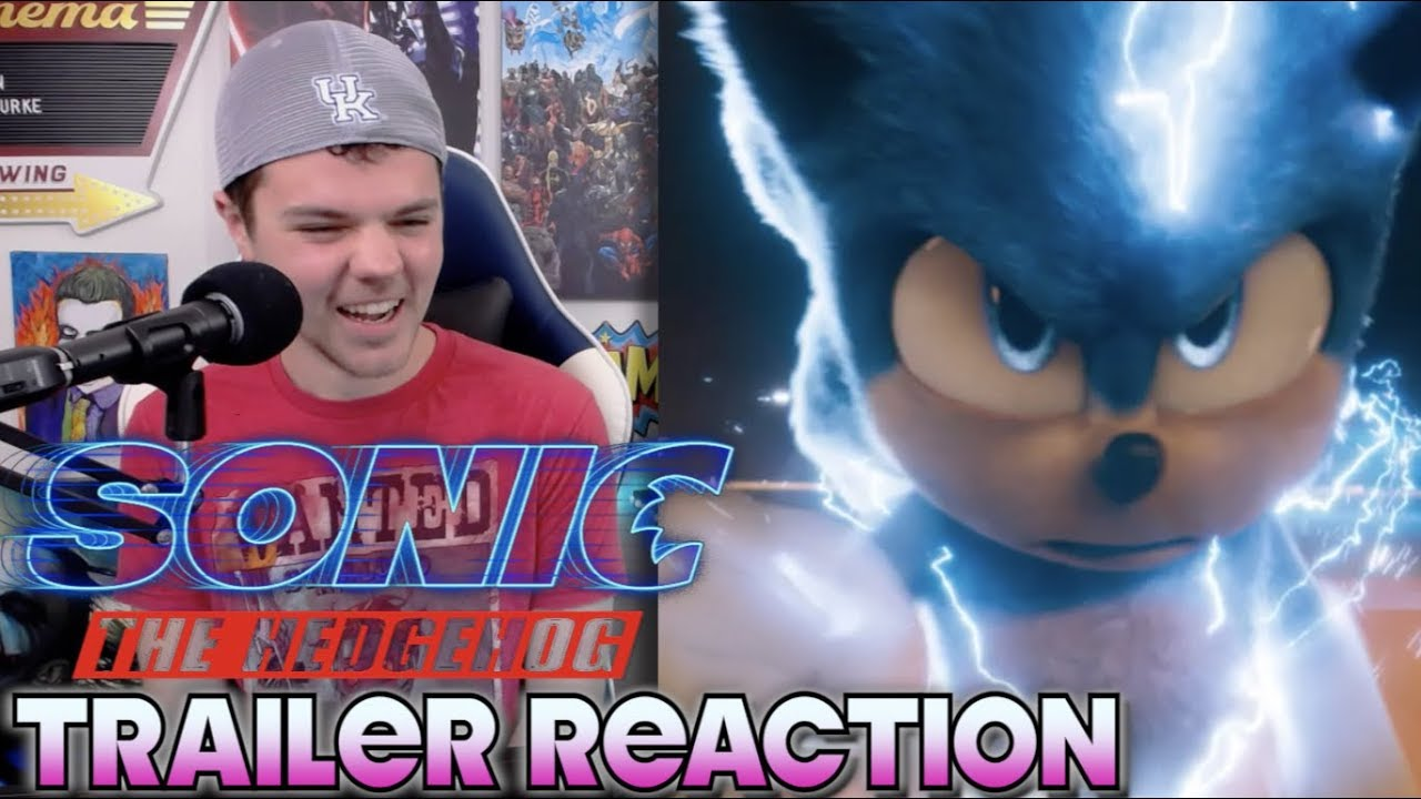 Sonic The Hedgehog (2020) New Trailer Reaction and Breakdown