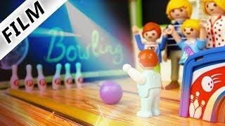 Playmobil Film deutsch BOWLINGBAHN IN LUXUSVILLA - Emmas Geburtstags-Überraschung | Familie Vogel