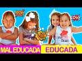 Criança Mal Educada VS Criança Educada no PARQUINHO - MC Divertida
